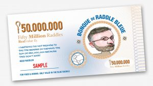 The Blue Raddle - Vouchers